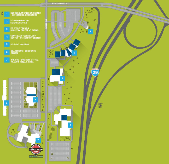 2017 STI Campus Map
